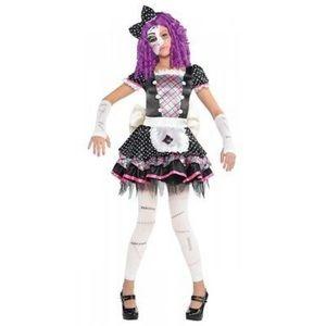Damaged Doll girl's Halloween costume🎃
